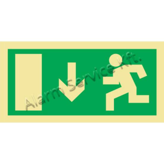 Utánvilágító tábla, vészhelyzeti jel