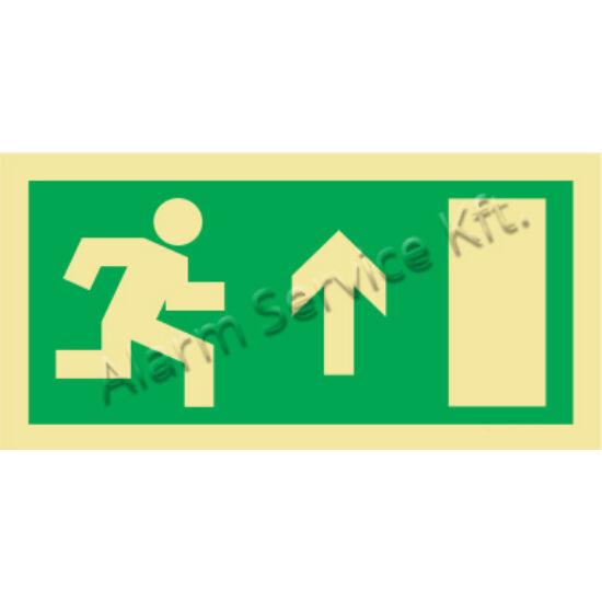 Utánvilágító tábla, vészhelyzeti jel M0136