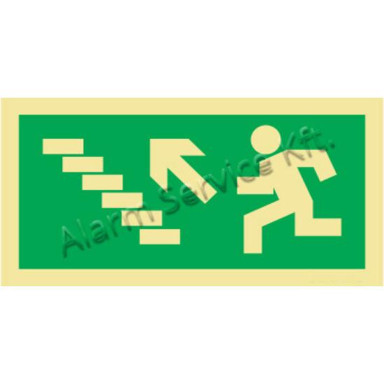 Utánvilágító tábla, vészhelyzeti jel M0145