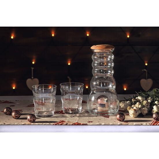 Cadus kristálytartós kancsó + Jasmina pohár akció