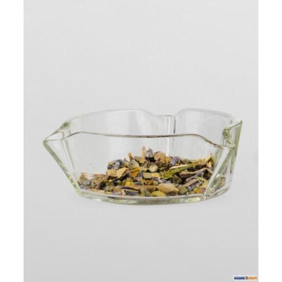 Boroszilikát pót-üvegtálka Lucerna füstölőhöz