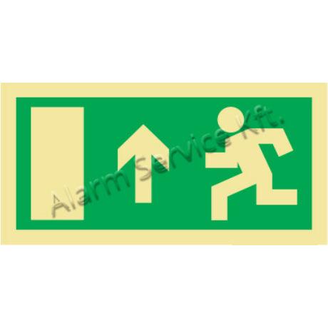 Utánvilágító tábla, vészhelyzeti jel M0137