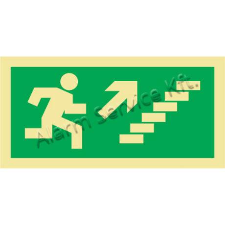 Utánvilágító tábla, vészhelyzeti jel M0143