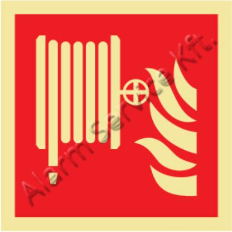 Utánvilágító tábla, tűzvédelmi jel M1003
