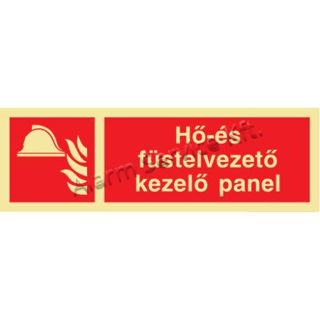 Utánvilágító tábla, tűzvédelmi jel M1413