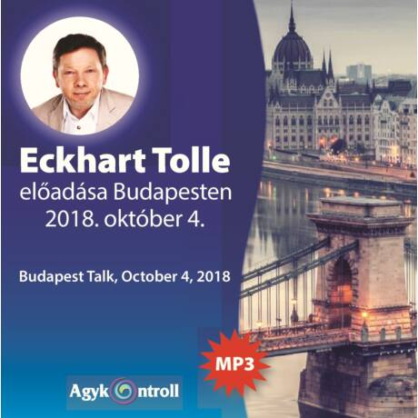 Eckhart Tolle Budapesten (MP+-as CD)