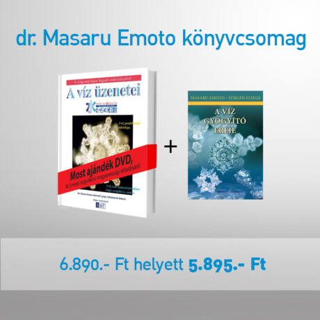 masaru emoto könyv akció